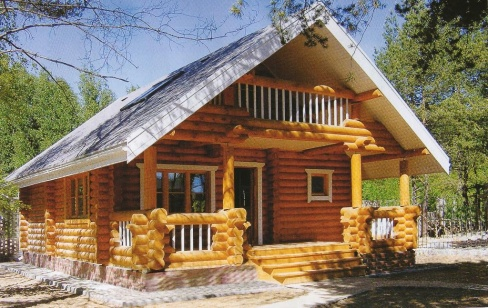 Качественный деревянный дом
