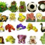 Игрушки из цветов – незабываемый и оригинальный подарок