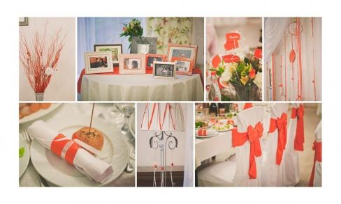 Декорация свадебного зала