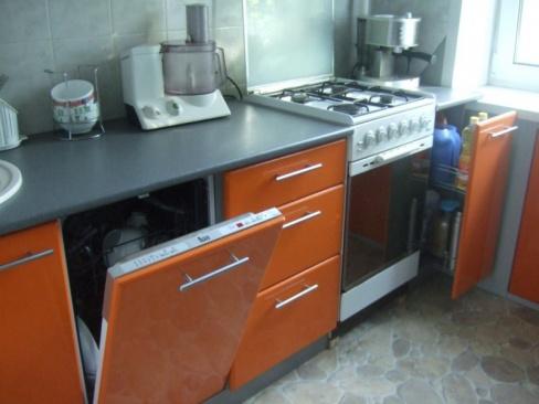 Установка посудомоечных машин