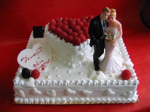 Свадебный торт – украшение свадьбы
