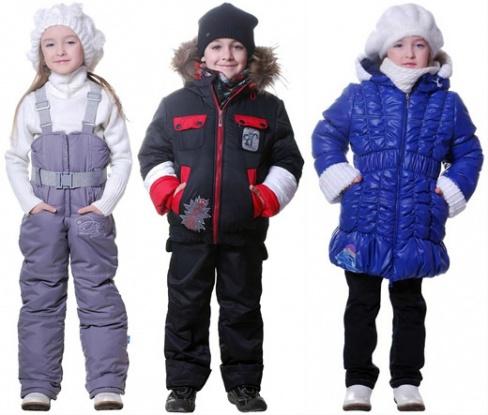 Как правильно выбрать курточку для ребенка на зиму?