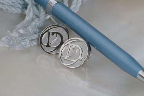 Значки под серебро и золото