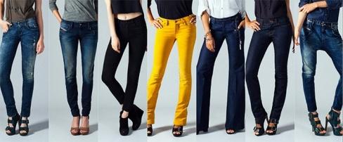 Советы по выбору модных джинсов
