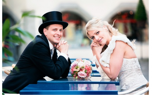 Свадебные наряды жениха и невесты