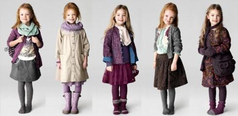 Стильные фасончики для девочек