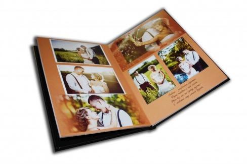 Оригинальное оформление свадебной фотокниги
