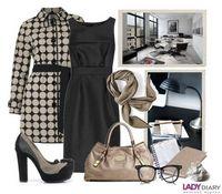 Модный стиль деловой одежды 2013-14
