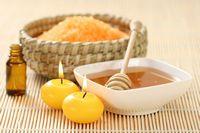 Оливковое масло с солью для лица