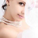 Свадебная бижутерия для невесты из жемчуга