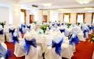 Советы по украшению банкетного зала на свадьбу