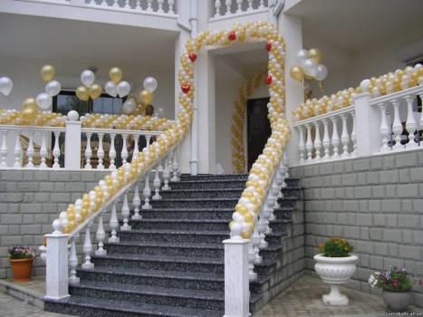 Оформление свадьбы и других праздников воздушными шарами