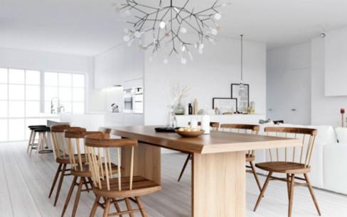Какие люстры в скандинавском стиле выбрать для кабинета